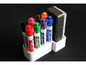 9 Piece Dry Eraser Holder