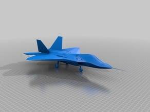 F22 Raptor scale model