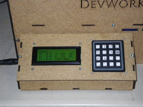 LCD+Keypad Control Panel for Makerbot