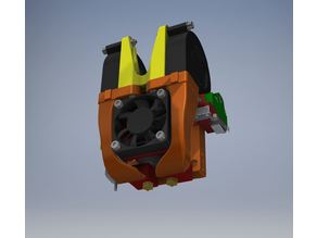Flyingbear Tornado New Head for E3D Chimera(Original or Clone)