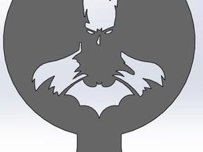 Coffee Stencil - Batman