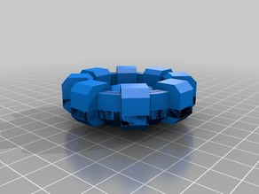 Arc reactor low poly