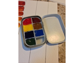 Paint Palette Insert for Altoids Smalls Tin