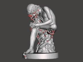 Statue of the Spinario / Fedele / Pinau - Rome / La Crosse / Epinal