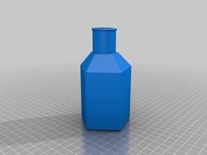 Pentagonal Potion Bottle