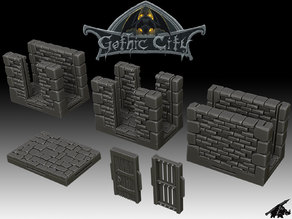 Gothic Labyrinth Set (JOIN our PATREON)