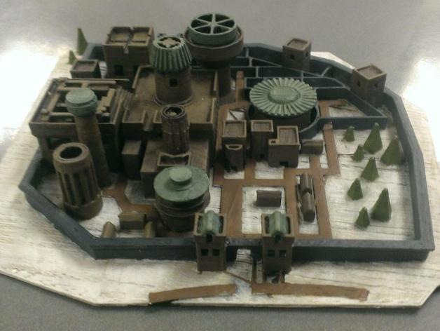 Where Is All Money Coming From >> Winterfell from Game of Thrones by l23VIVE - Thingiverse