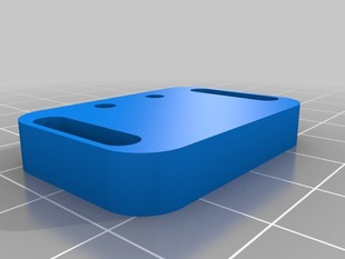 Makerfarm Prusa i3 y-axis endstop holder