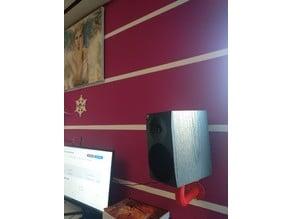Rotary speaker holder