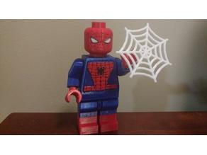 Giant Lego Spiderman