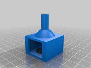 Filament Guide and Cleaner for Filament Spool Floor Mount