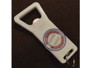 FC Bayern Muenchen Bottle Opener And Keyring