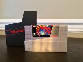 Nintendo SNES Cartridge Dust Cover / Storage Sleeve