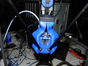 Dual J-Head  Kossel Magnet Upgrade