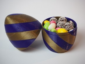 Easter Egg, Two Color Gift Box