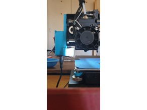 Wanhao Duplicator i3 Mini/Cocoon Create Model Maker/Monoprice i3 Mini LED Light Attachment