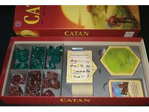 Catan 5-6 Player Expansion Sorter box / insert