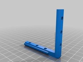 Internal Bracket for 20 Series Aluminum Extrusions (8020/2020), 5 mm Slot