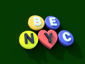 A Magnetic Puzzle set for New York City subculture.
