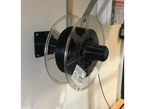 Wall mounted Spool Holder and Cuffs