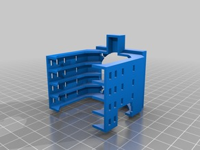 Lateral fan for Anycubic I3 Mega extruder nema17 motor
