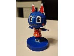 Rosie-like figure from Animal Crossing
