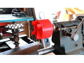 Lathe Chuck for Casting!!