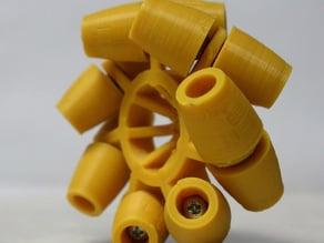 Parametric Mecanum Wheel Generator Tool