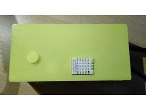 sonoff th10/16 + temperature and humidity sersonr enclosure