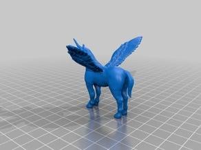 Flying Pegasus Unicorn
