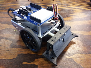 Parallax Shield-Bot Front Scoop