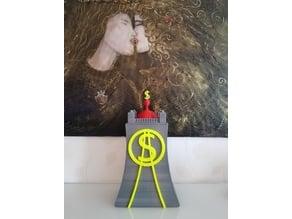 Scrooge McDuck (Joakim von Anka) Ducktales Money Bin (Bank)