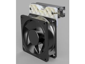 120mm fan holder for 30x30 aluminum extrusion