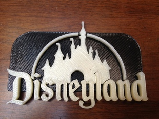 Disney Castle + keychain