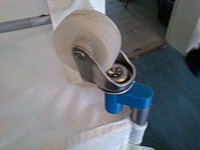 Replacement wheel holder feet for the Bardu ikea wardrobe