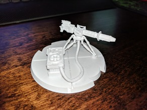 Star Wars Legion Scaled E Web Heavy Blaster
