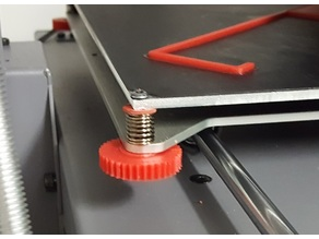 Thumb Screw for Bed Leveling