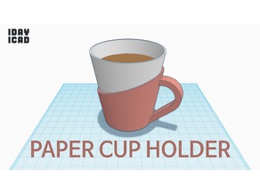 [1DAY_1CAD] PAPER CUP HOLDER