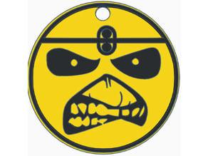 Iron Maiden Eddie Keychains Smile