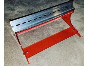 Laser Cut Din Rail Stand