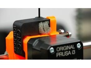 Original Prusa i3 MK2 - Snap-On Filament Dust Filter