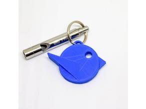 loiseaucreatif - Logo Keychain