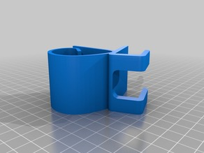 Phone Stand clip on Shelf