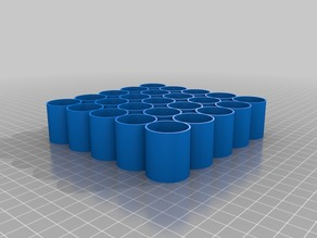 Vapor Bottle Holder 5X5 25mm