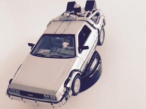 Back To The Future Desktop Hover car