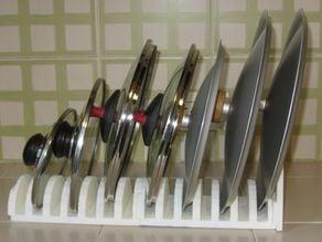 Multipurpose lid organizer