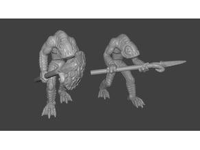 Kua-Toa / Fishman Miniatures