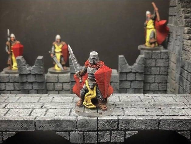 Knight (28mm/32mm scale) by dutchmogul - Thingiverse