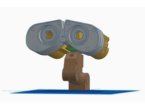 WALL-E head and neck remix