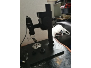 C-Mount Adjustable Microscope Stand